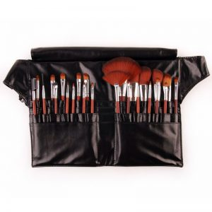 24 Piece Make-Up Brush Set with Fannie Pack