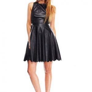 Ark & Co Laser Flare Dress-Front