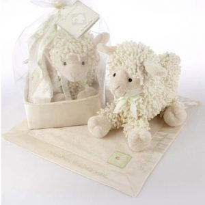 Baby Aspen Lamb and Blanket Set-Pic One
