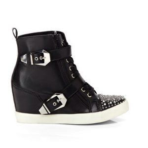 Penny Loves Kenny Studded Wedge Sneaker-Side
